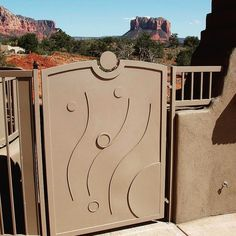 Custom Gates by Giovanni Designs. www.giovannidesigns.info