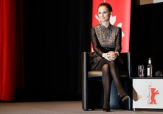 Actress Natalie Portman attends the panel discussion about the film The Seventh Fire at the 2015 Berlinale Film Festival in Berlin, Saturday, Feb. 7, 2015. Photo by Michael Sohn of the Associated Press.