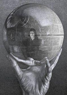 M.C. Escher Senator Palpatine