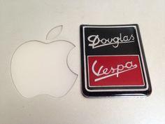 Badge Vespa Douglas Brand New