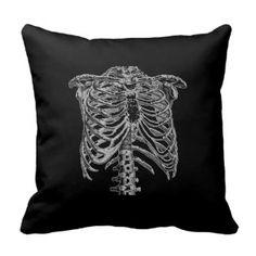 Ribcage Pillow
