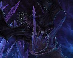 Image result for black dragons deviantart
