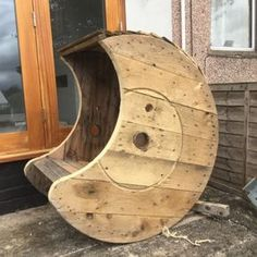 Reclaimed-Solid-Wood-Cable-Drum-Rocking-Chair