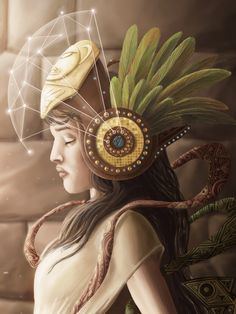 Goddess Mama Killa , in Inca mythology and religion, was the third power and goddess of the moon.