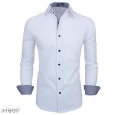 Checkout this latest Shirts Product Name: *Attractive Cotton Blend Solid Shirt  * Fabric: Cotton Blend Sleeve Length: Long Sleeves Pattern: Solid Multipack: 1 Sizes: XXL Country of Origin: India Easy Returns Available In Case Of Any Issue   Catalog Rating: ★4 (221)  Catalog Name: Men's Attractive Cotton Blend Solid Shirt Vol 1 CatalogID_225528 C70-SC1206 Code: 524-1723635-2601