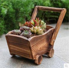 macetas de madera - Buscar con Google
