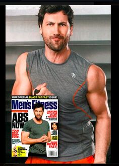 Dancing With the Stars dancer, Maksim Chmerkovskiy wore MPG in the April 2012 issue.
