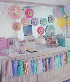 Unicorn Party Decorations Unicorn Party Centerpiece by PoshSoiree
