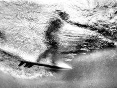 Surfing Picture -- Underwater Photo