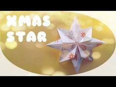Origami ster vouwen  YouTube  DIYpaper  Pinterest  Origami