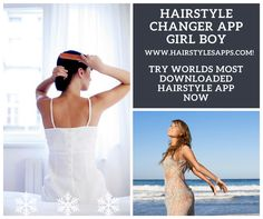 I'm not boring because I use Hairstyle Changer App Girl Boy www. Hair Changer, Hairstyle App, Trendy Hairstyles, Hair Styles, Boys, Play, Store, Google, Women