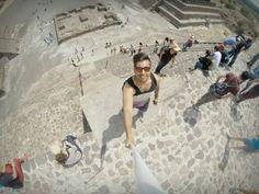 GoPro GoPole selfie en Teotihuacan