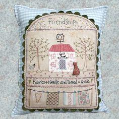 Shop | Category: Lynette Anderson Designs | Product: Quilt Shoppe Pillow