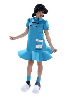 Peanuts Adult Lucy Costume