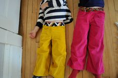 make kids trousers out of adults trousers