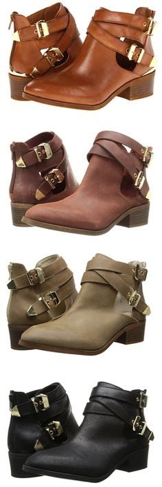 Buckle booties by Seychells http://www.revolvechic.com/#!/c21as