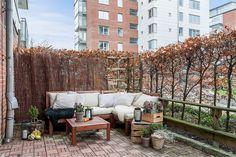 appartement contemporain - patio #decoration #design #mobilier