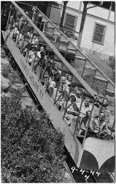 Manitou Incline ~ Manitou Springs Colorado ~ 1944