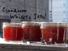 Cinnamon Whiskey Jelly