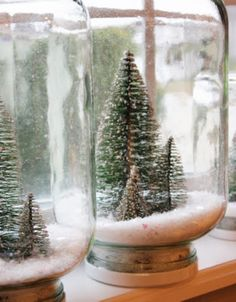 Sweet Something Designs: Waterless Snow Globes