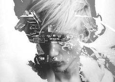 Mi interior es mi reflejo, yuxtaposición de imágenes e ideas que revelan el interior de cada persona por Matt Wisniewski
