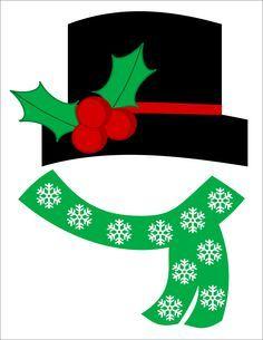 Imagem relacionada Christmas Printables, Christmas Themes, Kids Christmas, Christmas Templates, Christmas Photos, Snowman Printables, Xmas, Christmas Ornaments, Christmas Crafts