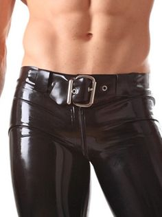 Latex Rubber Belt Black in Latex & Rubber by Honour Clothing.