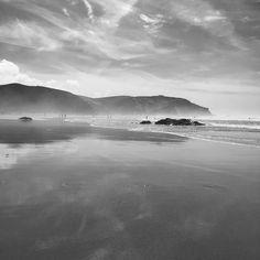 Parque Natural do Sudoeste Alentejanoe Costa Vicentina #aljezur #portugal #algarve #blackandwhite #beach