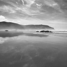 Parque Natural do Sudoeste Alentejanoe Costa Vicentina #aljezur #portugal #algarve #blackandwhite #beach
