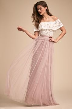 Bonnie Top & Louise Tulle Skirt | BHLDN