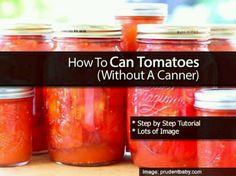 Preserving Tomatos
