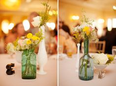 Preppy & Eclectic Southern Wedding    And, even more great flowers!