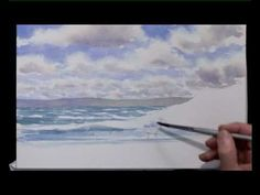 How To Paint Watercolours Three - Seascape - Part Two