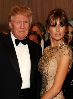 Billionaire real estate magnate Donald Trump wed Slovenian supermodel Melania Knauss on January 22, 2005. Despite their 24-year age gap, the couple is happily married and have a son together.