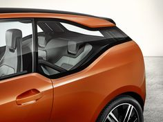 BMW i3 Coupe Debuts in LA with Carbon Fiber and CFRP. The car kind of has an exaggerated version of the Hofmeister Kink