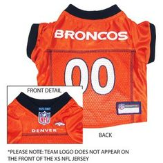 1c666def5 Denver Broncos NFL Football ULTRA Pet Jersey