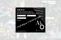 Alice Octavia email marketing modal popup for newsletter signup. #CTA #emailmarketing