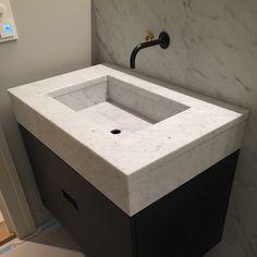 Marmorvask fås i ønsket mål 😉 Decor, Sink, Home Decor, Bathroom