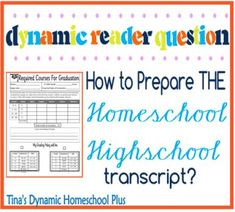 How To Prepare THE Homeschool High School Transcript  #homeschool #highschooltranscripts #ihsnet