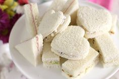 Bridal Shower Tea Sandwich Menu  A bridal tea party needs tea sandwiches, of course, and I have 3 tasty fillings to share. These can all be spread onto plain white bread.