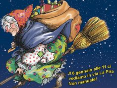 Italian Children Believe They Get A Visit From La Befana Kind But Ugly Witch