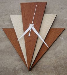 Art Deco Style Wall Clock Part 81