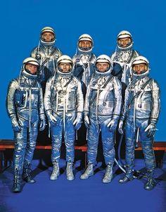 The original 7: Mercury astronauts