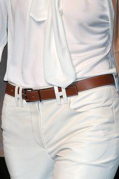 Hermès breeches. I love the belt loops.