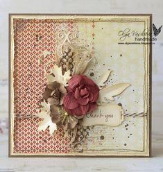 Девочки, привет!   Хочу показать вам винтажные открытки для Memory Box . На дворе теплущий и солнечный март, а у меня кленовые листики и Но...
