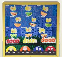Early years, reception, transport topic arts & crafts display Transport Topics, Eyfs, Transportation, Reception, Arts And Crafts, Display, Painting, Floor Space, Billboard