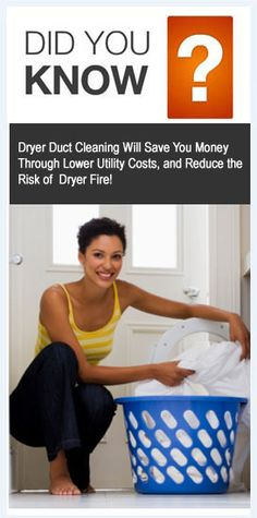Dryer Taking Long Time to Dry Each Load? What Are The Warning Signs That You Need To Schedule A Dryer Duct Cleaning Service?  1. Clothing (especially jeans, blankets and towels) take longer time to dry.  2. Clothes are hotter than normal at the end of the cycle.  3. Outside vent hood does not move once the dryer is on.  4. The vent hasn't been thoroughly clean within the last year.  5. Dryer keeps shutting off before the end of the timer.  6. Noticeable lint accumulates behind the dryer.