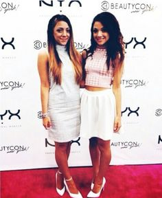 Niki and gabi at beautycon
