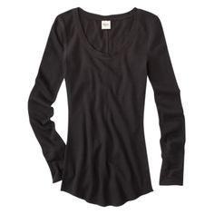 everyone needs to own at least one black long sleeve shirt.