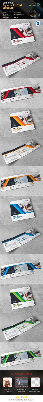 FREE tri fold school brochure Design  File formats PSD, AI, CDR - blank tri fold brochure template